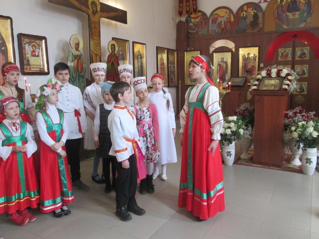 Детский утренник для всех детей и прихожан храма поселка Товарково