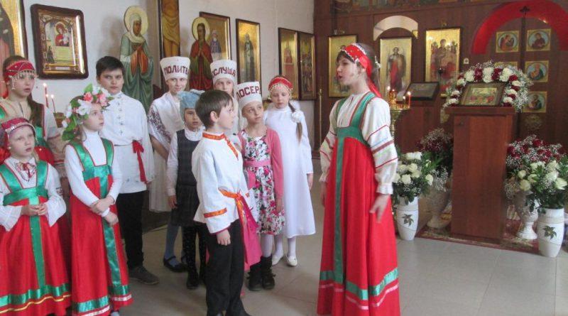Детский утренник для всех детей и прихожан храма поселка Товарково Калужская область